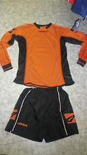 Aktion!  14 Trikot-Sets LOSANNA v. LEGEA . orange/schwarz  Gr.2XS,XS,S,M
