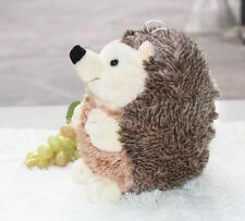 Lovely baby brown hedgehog Stuffed animals soft toy NEW baby dolls 20 cm