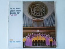 The 34th National Christian Endeavour Convention Choir - Perth - LP
