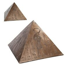 Anubis Horus Egyptian Gods Pyramid Bottom Load Cremation Urn Funeral Supply