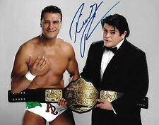 Ricardo Rodriguez Signed 8x10 Photo WWE Belt Picture w Alberto Del Rio Autograph