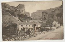 Somerset postcard - Entrance to Pass, Cheddar