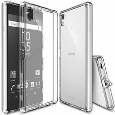 For Xperia Z5 Premium Case, Ringke FUSION CLEAR Transparent Protective Case