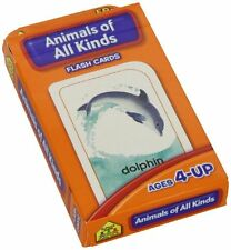Flash Cards Animals of All Kinds Learning Game Toy for Kids, Teachers, Classroom