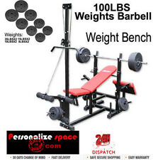 Multi-Station Bench Press with Weights
