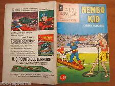 Superman Nembo Kid Albi del falco 409 l'idioma silenzioso 16-2-1964 mondadori ca