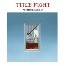 "TITLE FIGHT - SPRING SONGS 7"" RECORD VINYL LIGHT BLUE (REVELATION RECORDS)"