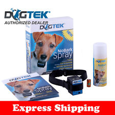 BARKING COLLAR DOGTEK CITRONELLA SPRAY BARK COLLAR DOGTEK SPRAY BATTERY IN