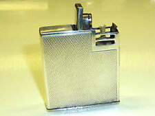 Vintage First (Hermann E. drollinger) pocket lighter w. 935 silver case-Germany