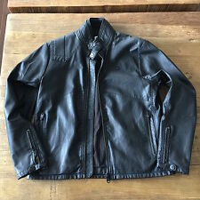 NWOT G-Star Raw Force Across Biker Jacket Men's XL Black RN# 104056 MSRP $399