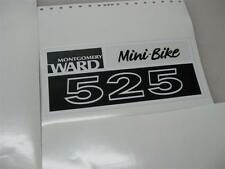 minibike mini bike decals wards sticker 323 424 525 minibike Smaller version