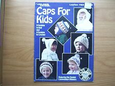 Caps For Kids By Leisure Arts - Knit And Crochet Patterns