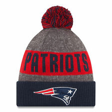 New Era New England Patriots 2016 Sideline Official Knit Beanie Hat Authentic