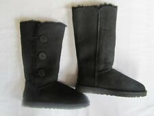 UGG Australia Womens Bailey Button Triplet Button Boots BLACK size eu39