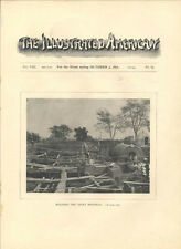 1891 Ulysses S Grant Tomb Memorial Construction NYC History Photos Old Article