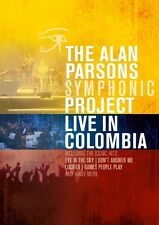 THE ALAN PARSONS SYMPHONIC PROJECT - LIVE IN COLOMBIA   DVD NEU