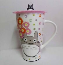 My Neighbor ToToRo Ceramic Tall Coffee Cup Mug with Silicone Cover Style C