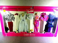 NIB BARBIE DOLL FASHION AVENUE SPECTACULAR SEASONS GIFT SET WINTER SUMMER FALL