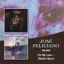 Jose Feliciano Souled/For My Love...Mother Music 2-CD NEW SEALED Remastered