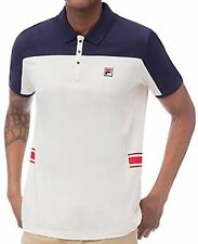New NV2 Fila Bjorn Borg Men's Mivvi Polo Navy LM161RM3 Size M