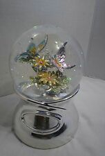 The Flower Song Musical Snow Globe Things Remembered Butterflies & Flowers