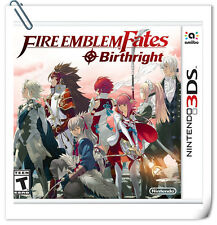 3DS Nintendo Fire Emblem Fates: Birthright RPG