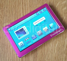 "EVO EVODIGITALS PINK 80GB 4.3"" TOUCH SCREEN MP5 MP4 MP3 PLAYER VIDEO + TV OUT"