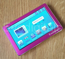 "Nuevo evodigitals Rosa De 32 Gb De 4,3 ""pantalla Táctil Mp5 Mp4 Mp3 Reproductor De Video + Tv Out"