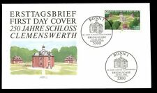 Germany  1987 Clemenswerth Castle FDC, Cover #C7248