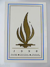 United Nations UN Souvenir Stamp Folder - 1990, Human Rights Issues