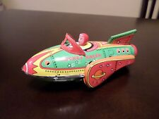 Schylling Collector Series Rocket Racer Friction Tin Toy
