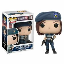 FUNKO POP 2017 GAMES RESIDENT EVIL JILL VALENTINE #155 Vinyl Figure IN STOCK