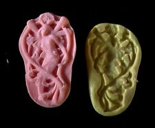 Fairies Mermaid  -Flexible Silicone Mold-Cake Candy Cookie Crafts Clay