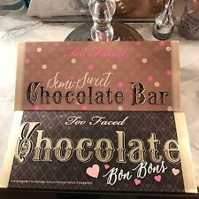 Two Too Faced Palettes Semi Sweet And Bon Bon Non Authentic