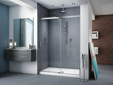 "FLEURCO 45-48"" X 75"" APOLLO IN-LINE FRAMELESS SLIDING SHOWER DOOR"