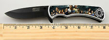 LOST TV Show Cast Dharma Limited Edition Spring Assisted Tactical Knife 4.5""