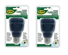 (2) Automatic Outdoor Flood Light Sensor ~ Electric Eye ~ New ~ Free Shipping