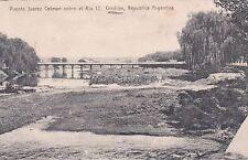 ARGENTINA - Cordoba - Puente Juarez Celman sobre el Rio 1° 1911
