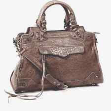 Rebecca Minkoff DESIRE Satchel in Gray Bubble Lambskin
