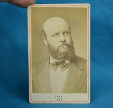 1870/80s CDV Carte De Visite Photo Portrait Franz Betz Opera Bass Baritone
