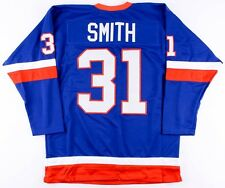 Billy Smith Unsigned Islanders On-Ice Style Custom Stitched Jersey (Size XL)