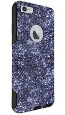 "Otterbox Case Customized Glitter For iPhone 6/6s Plus Smoke/Black 5.5"" Sparkly"