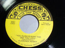Clarence Henry: You Always Hurt the One You Love / But I Do  [Unplayed Copy]