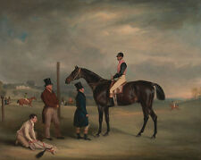Euxton, with John White Up John Ferneley Heaton Park Pferde Jockey B A3 00068
