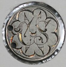 """1888 Seated Liberty Dime Love Token - """"CHS"""""""