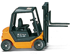 HO scale Wiking Industrial Forklift Still R70-25 66301 1:87