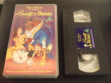 BEAUTY & THE BEAST VHS VIDEO DISNEY EXCELLENT CONDITION