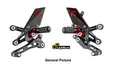 LighTech R-Series Track System Adjustable Rearsets Rear Sets Yamaha YZF R1 09-14