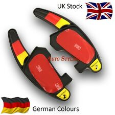 BANDIERA TEDESCA COLORI TONDA SHIFT estensioni VW DSG GOLF 7 MK7 GTI GTD R Germania