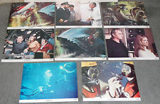 THE NEPTUNE FACTOR lobbycard set SCUBA DIVING 11x14 movie posters YVETTE MIMIEUX